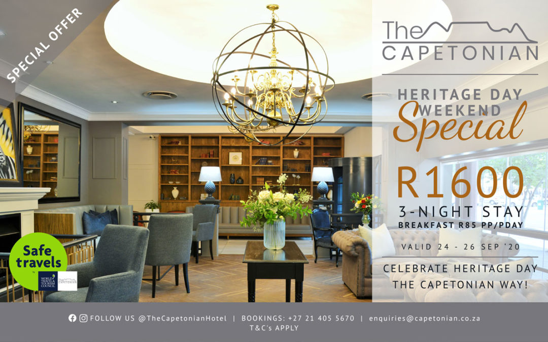 Heritage Day Weekend Special | Capetonian