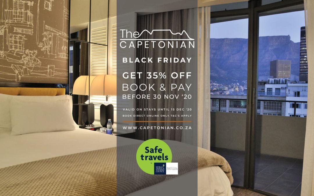 Black Friday Special | Capetonian